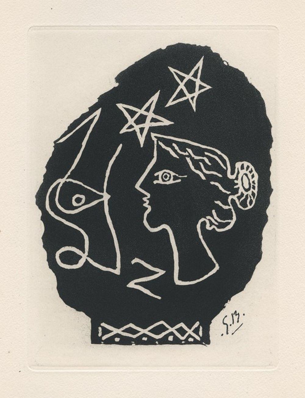 Georges Braques - Femme de profil