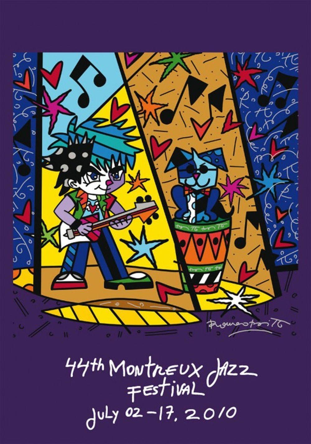 Romero Britto - Montreux Jazz 2010