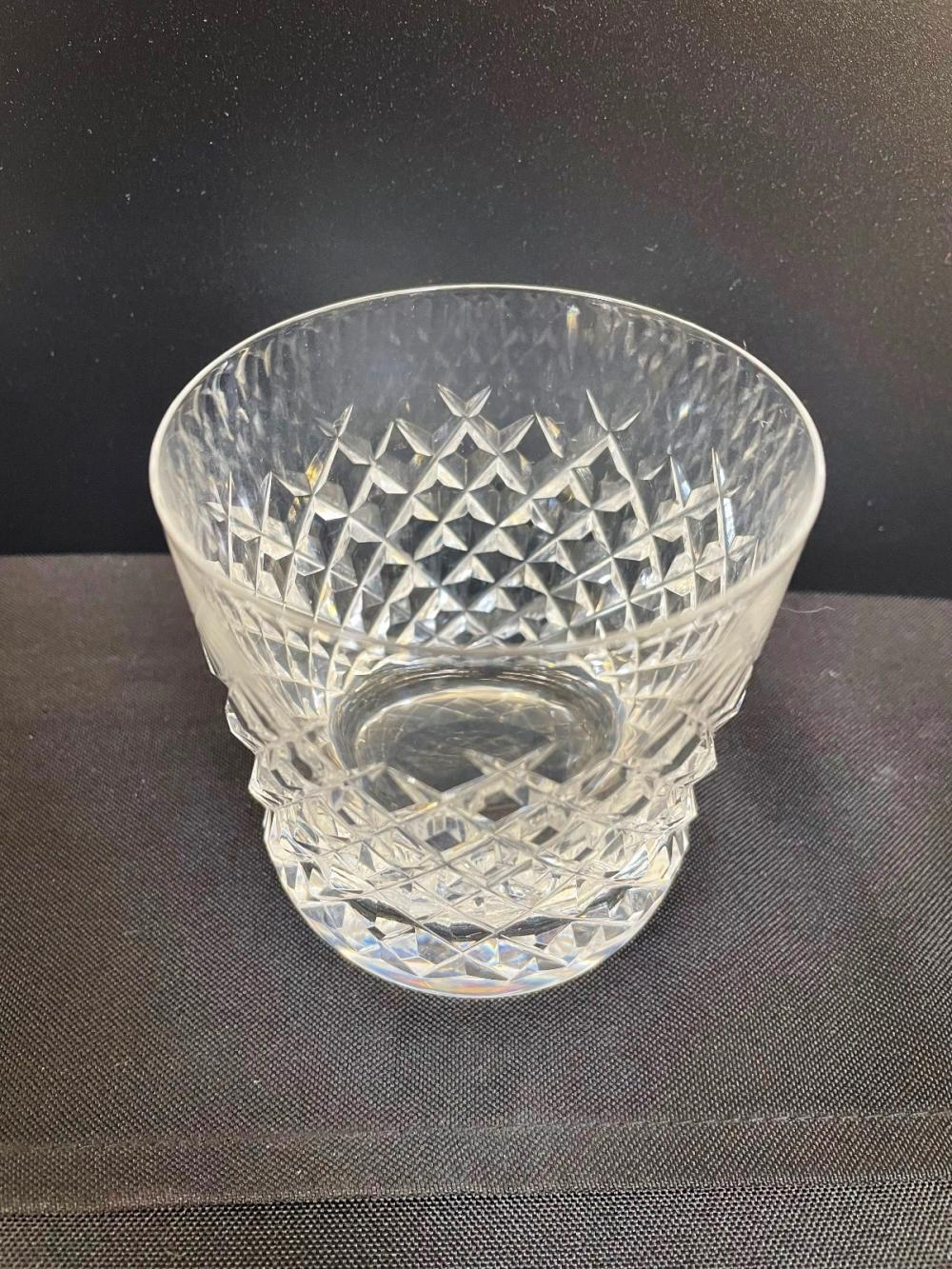 (12) Lismore Waterford Old Fashioned Glasses