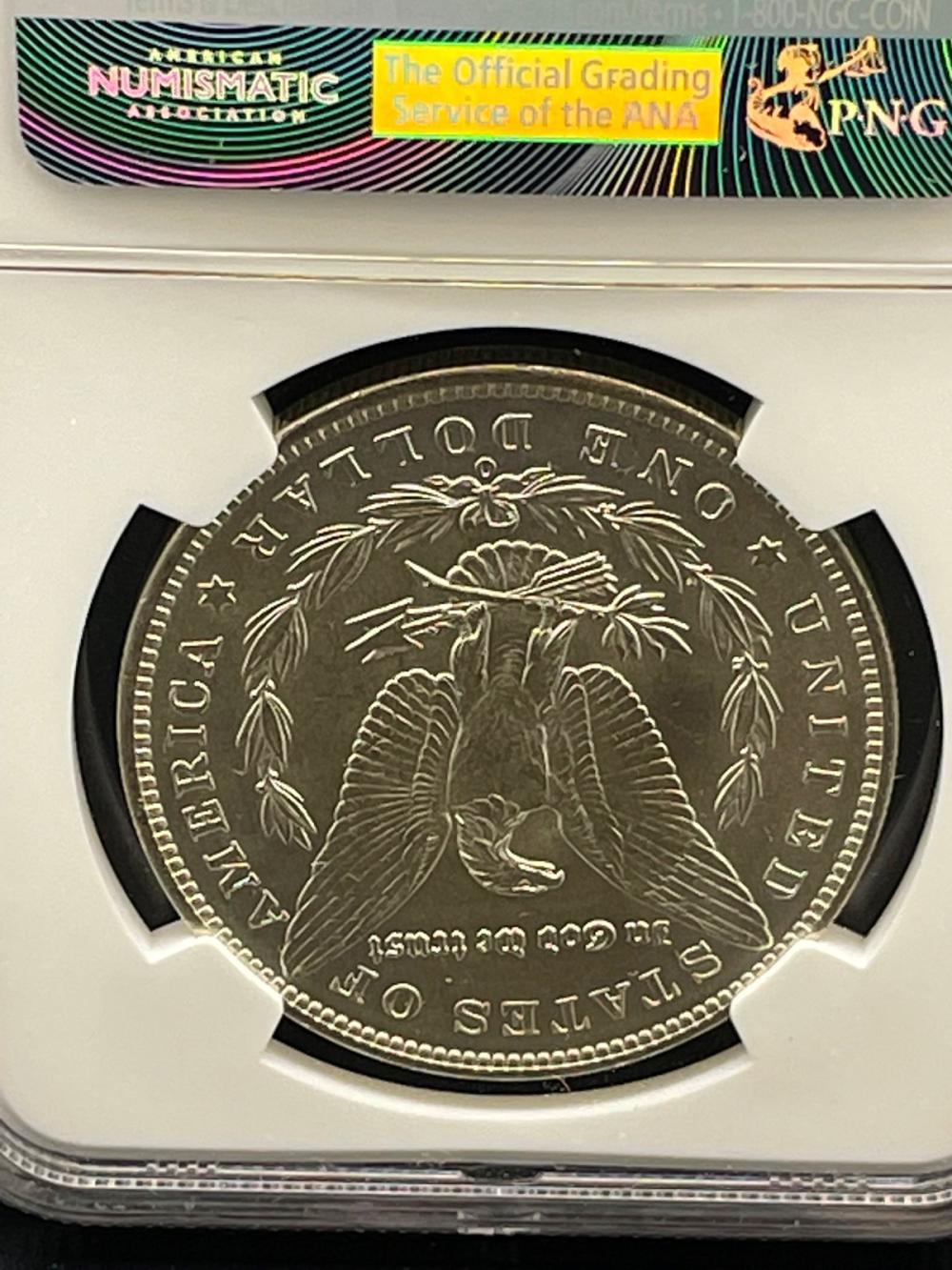 1888-O Morgan Silver Dollar Graded NGC MS63