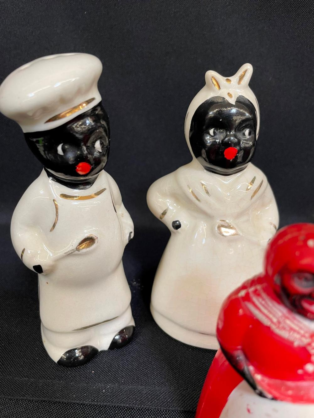 (3) Sets of salt and Pepper Shakers