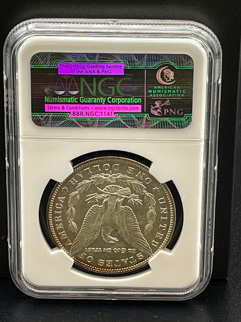 1900-S Morgan Silver Dollar Graded NGC CAC MS62