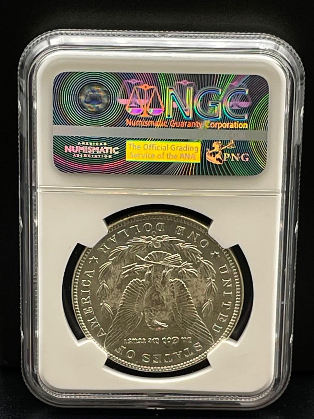1902-O Morgan Silver Dollar Graded NGC MS63