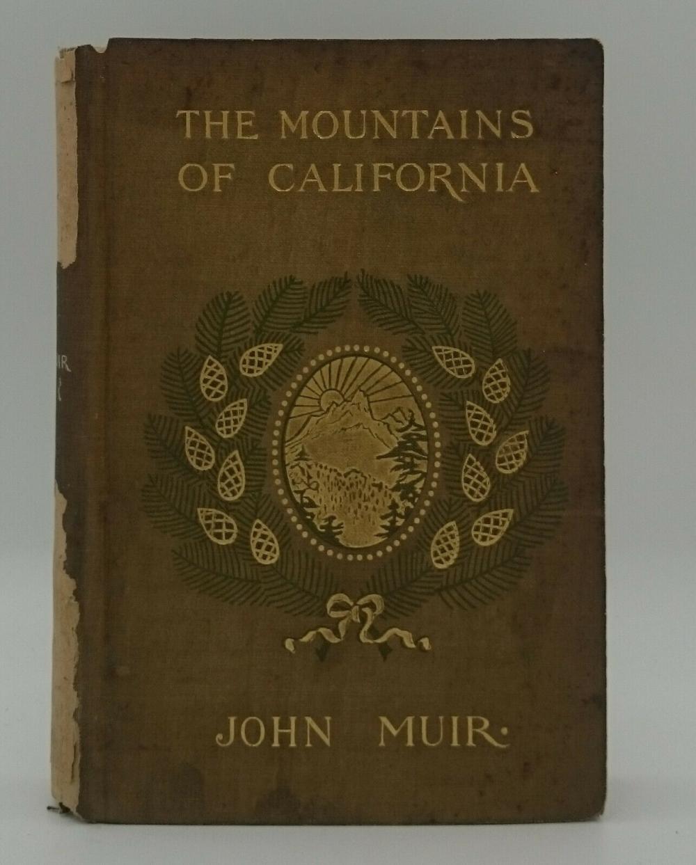 1894 The Mountains Of California 1st Edition John Muir Illustrations Photos