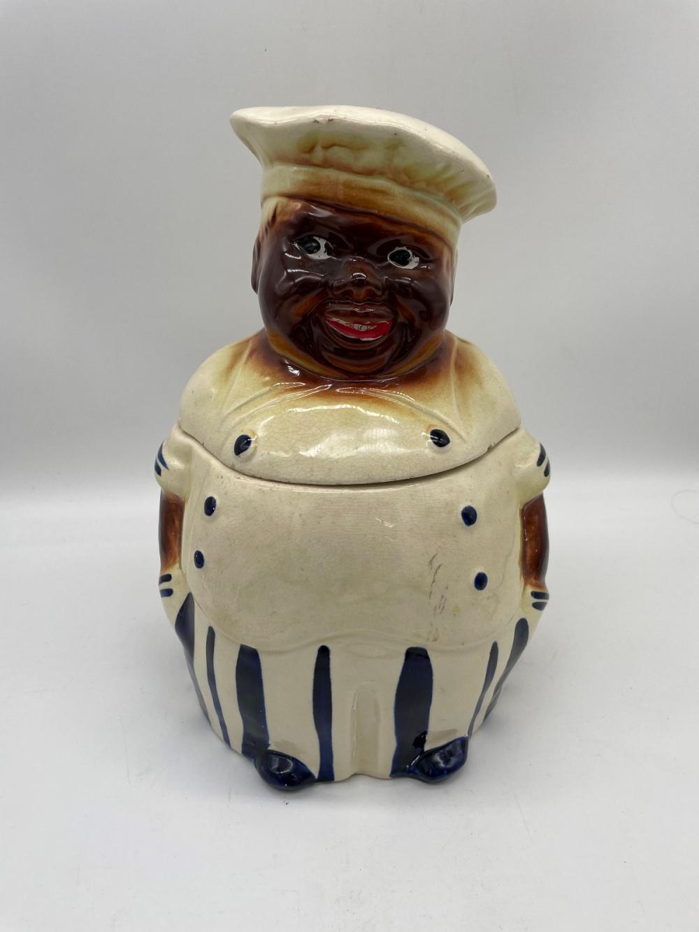 Black Americana Male Cookie Jar