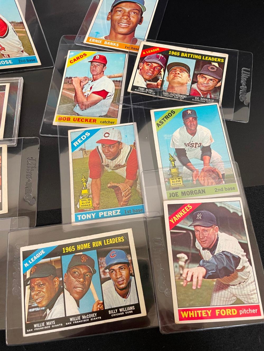 1966 Topps Baseball Cards Partial Set 491/613