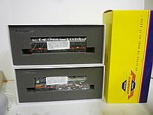 LOCOMOTIVE: GENESIS SOUTHERN PACIFIC SET F-7B PHASE 1 & F-7A PHASE 1. BRAND NEW IN BOX, NEVER OPENED OUT OF PLASTIC