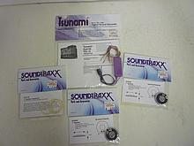 TRAIN SOUND PARTS: TSUNAMI & SOUNDTRAXX (1) SPEAKER GASKET KIT, (2) 1