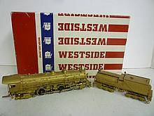 LOCOMOTIVE: SOUTHERN PACIFIC MT-5 4-8-4 WESTSIDE MODEL COMPANY, IN BOX LOCOMOTIVE: SOUTHERN PACIFIC MT-5 4-8-4