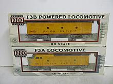 LOCOMOTIVE: F3A & F3B POWERED LOCOMOTIVE, F3A & F3B POWERED LOCOMOTIVE, PROTO 1000 SERIES NEW IN BOX