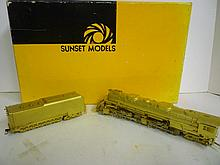 LOCOMOTIVE: SUNSET MODELS PRESTIGE SERIES LOCOMOTIVE: SUNSET MODELS PRESTIGE SERIES