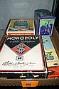 LOT OF VINTAGE GAMES ''MONOPOLY'' ''THE THING''