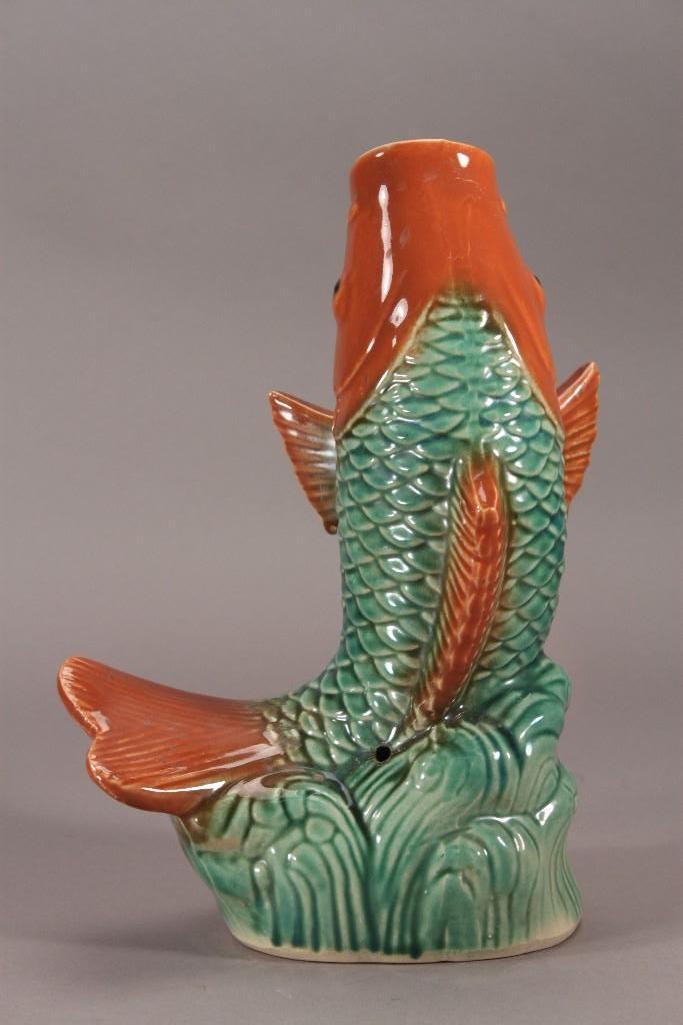 Ceramic Koi Fish Figurine