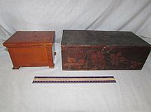 VINTAGE WOODEN BOXES (2)