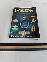 STAR TREK COLLECTIBLES (A BOOK FOR COLLECTORS) SOME PAGES HAVE BEEN FOLDER, CLASSIC SERIES, THE NECT GENERATION, DEEP SPACE 9, & VOYAGER