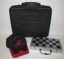 SNAP-ON CARRYING CASE, HAT, & CHECKERS SET