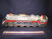 TRADEMARK MODERN TIN TOY TRAIN