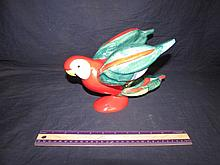 GOEBEL RED PARROT FIGURINE
