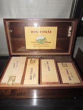 DON TOMAS CIGAR BOX WITH INDIVIDUAL BOXES