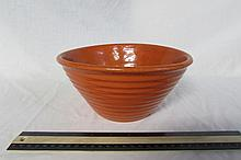 RED POTTERY MIXING BOWL 4