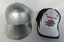 SNAP ON 85TH ANNIVERSARY BALL CAP & DISPLAY CASE LIMITED EDITION, WITH VERY UNIQUE DISPLAY/STORAGE CASE THAT IS IN THE FORM OF A BALL CAP ITSELF, CAP IS BLACK, WITH A WHITE FRONT AND THE SNAP-IN 85TH ANNIVERSARY LOGO