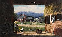 Frank Henry Shapleigh, (1842-1906), New Hampshire.  Oil on canvas, Mr. Chocorua