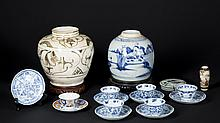Japanese and Chinese Porcelain Lot