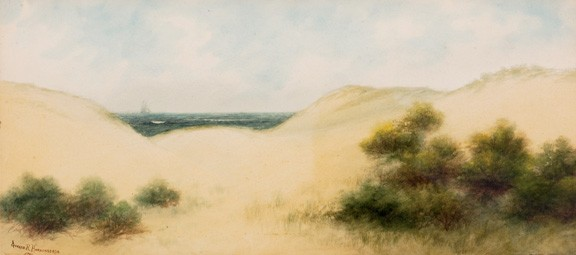 Gerard Rutgers Hardenbergh Watercolor