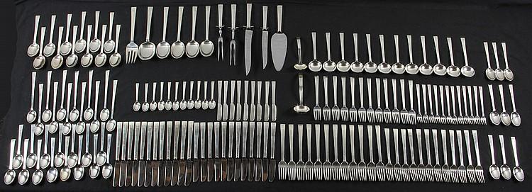 Sterling Silver Flatware Set for 12
