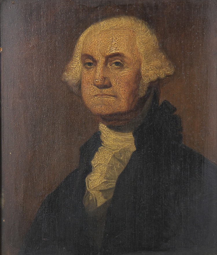 John Thomas Peele, Attributed, Portrait of George Washington