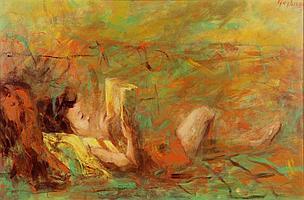 Edmund K. Yaghjian, oil on board
