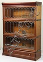 The Globe-Wernicke Co. Mahogany Stacking Bookcases