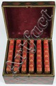 Tartan Ware Box, with 5 volumes by