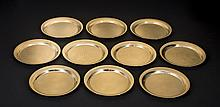 Ten 14k Solid Gold plates, 44 Troy ounces