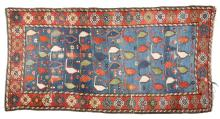 Antique Caucasian Scatter Size Oriental Rug