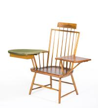Comb Back Windsor Armchair with Writing and Reading Arms