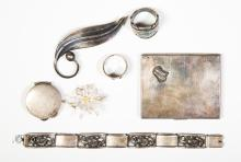 Lot of Sterling and Fine Silver