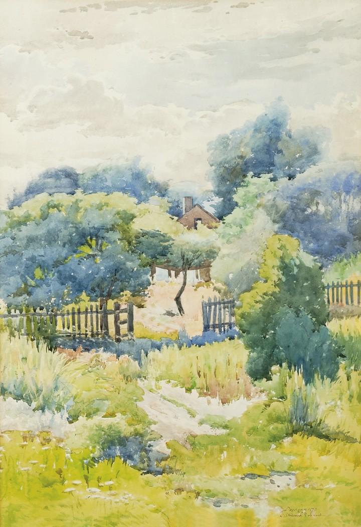 J. Ambrose Prichard,  watercolor