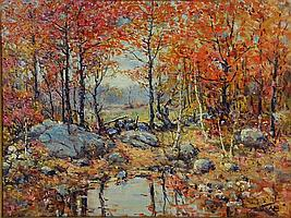 Henry Hammond Ahl, oil on canvas