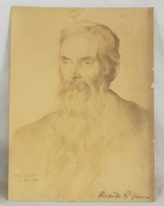 Alexander R James pencil Drawing