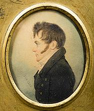 John Turmeau, English 1777-1846 Miniature