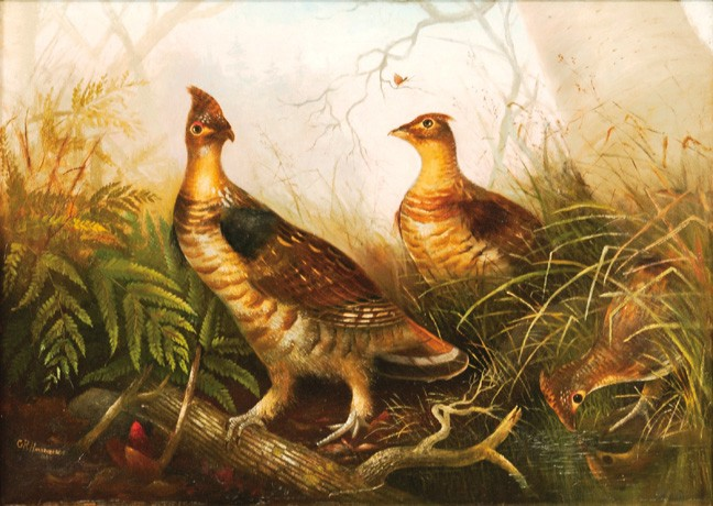 Gerard Rutgers Hardenbergh oil on canvas