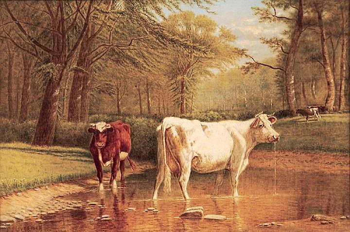 Clinton Loveridge oil on canvas