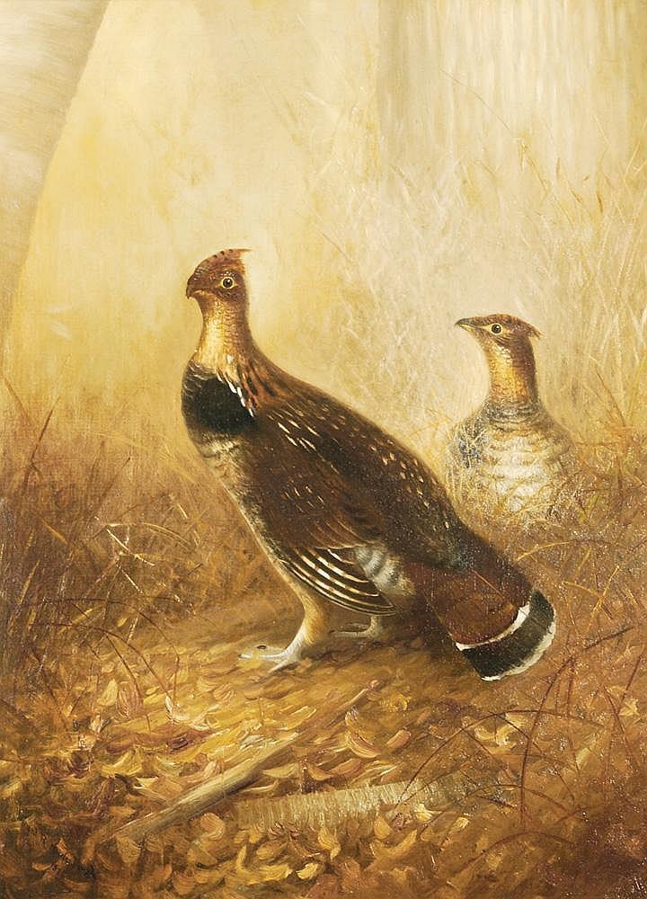 Gerard Rutgers Hardenbergh, Oil on canvas
