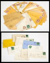 Approximately 500 US Covers from 1870-1880's and 1900-1912