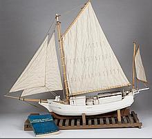 Ships Model of the Spray-Boston