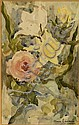 Marie Laurencin, attributed, watercolor