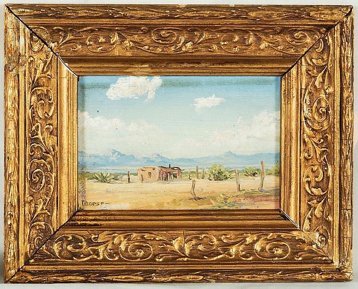 Vernon Jay Morse O/B of Adobe Desert