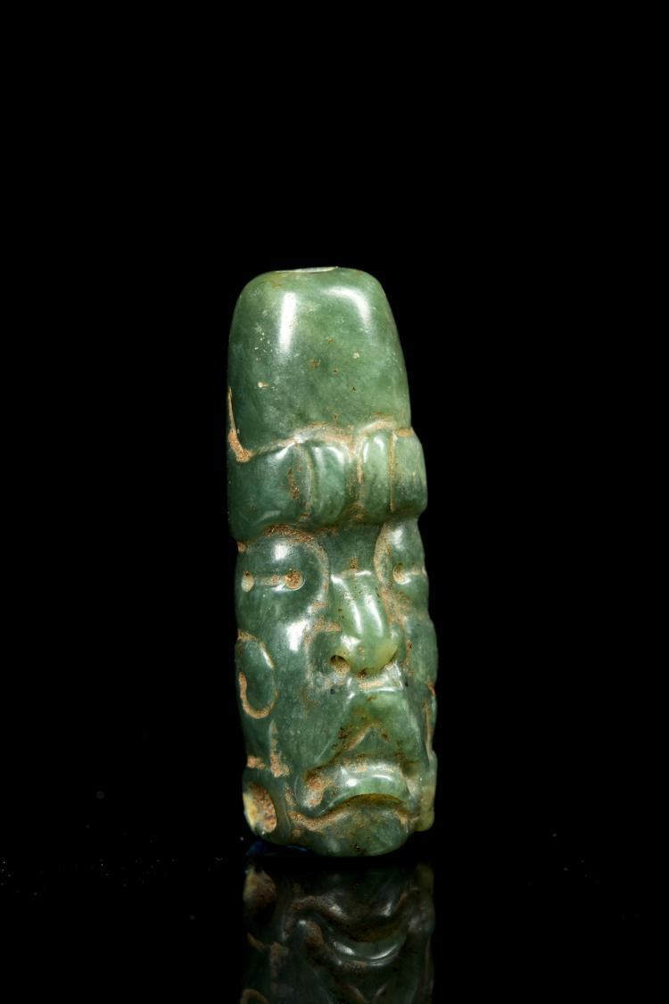 A Small Olmec Stone Head pendant, Middle Preclassic, ca ... |Olmec Head Necklace
