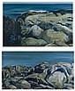 Louise Link Rath Pair of Landscapes